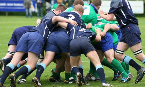 Lydney osteopaths - Treating Rugby injuries