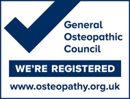 Lydney Osteopaths member of General Osteopathic Council
